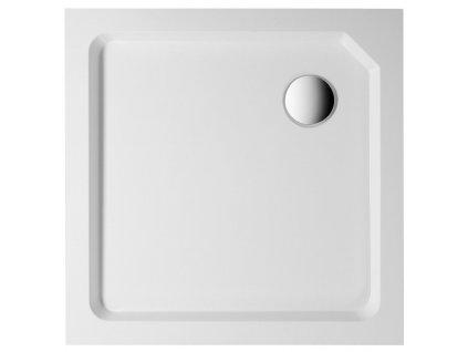 STARYL sprchová samonosná vanička čtverec 90x90x14cm
