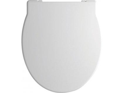 PANORAMA WC sedátko Soft Close, duroplast, bílá