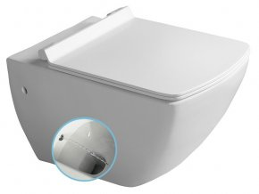 PURITY WC závěsné s bidetovou sprškou 35x55,5cm, bílá