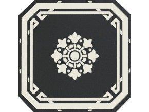 OLD ENGLAND Ottagono Black Dover 20x20 (bal.= 1,16 m2)