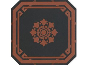 OLD ENGLAND Ottagono Black Chester 20x20 (bal.= 1,16 m2)