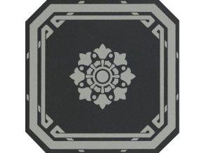 OLD ENGLAND Ottagono Black London 20x20 (bal.= 1,16 m2)