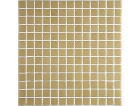 LISA plato skleněné mozaiky beige 2,5x2,5cm