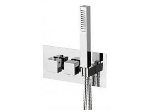 LATUS podomítková sprchová termostatická baterie vč. sprchy, 3 výstupy, chrom