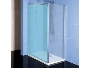 EASY LINE boční stěna 700mm, sklo BRICK