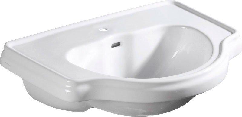 Kerasan RETRO keramické umyvadlo 62x45,5cm, zápustné