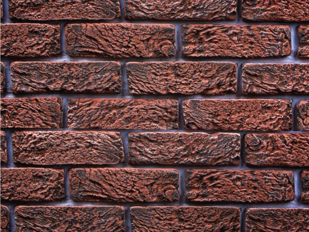 hand brick cerveny