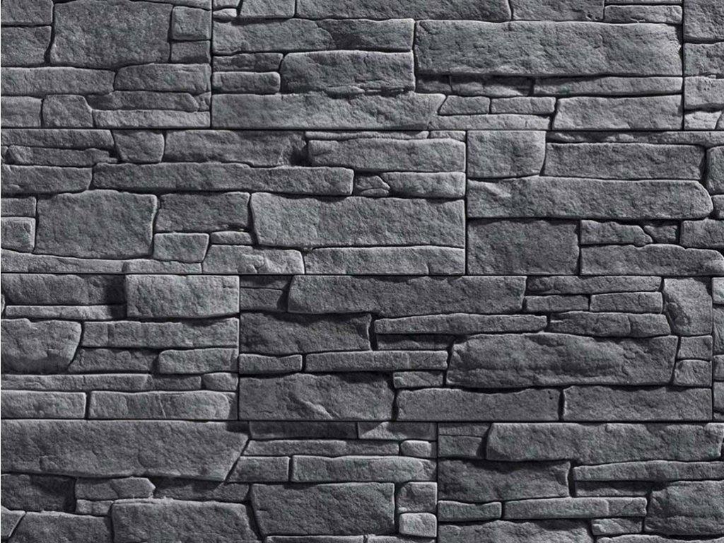 Kamenný obklad Stegu - MEXICANA 3 graphite