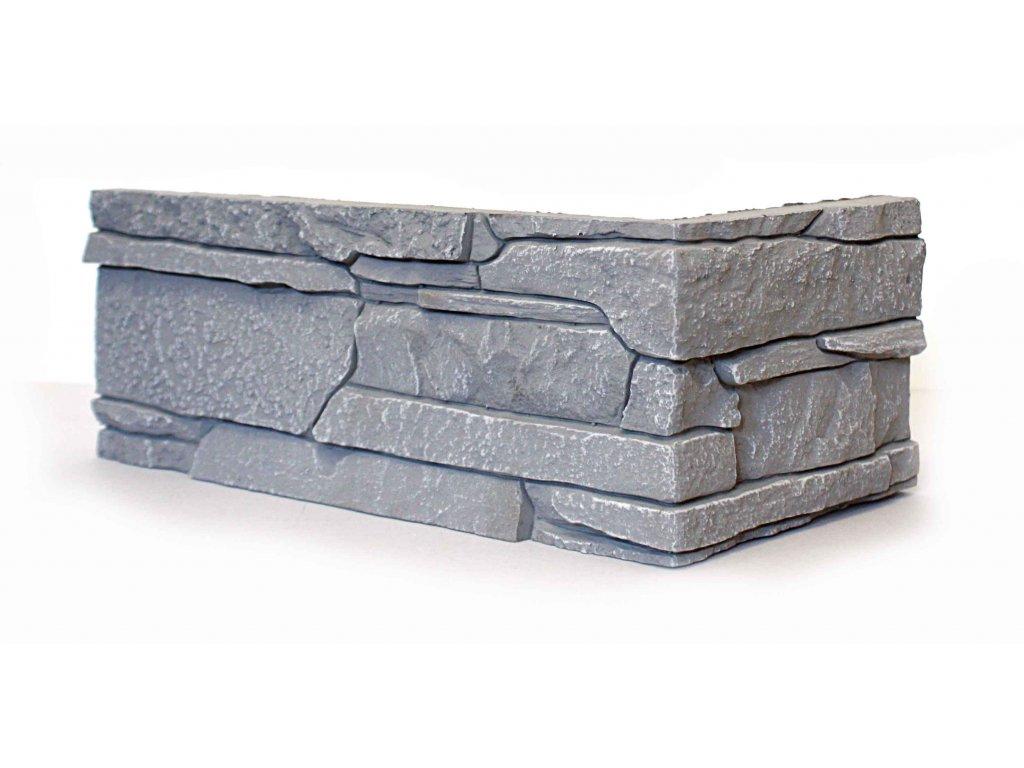 Rohový obklad Luminta - RONDA ŠEDÁ
