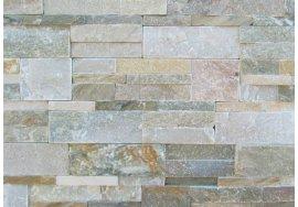 Přírodní obkladový kámen - KVARCIT SVĚTLÝ
