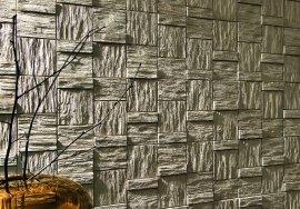 Sádrový obklad Incana - WOOD BLOCK NATIVE