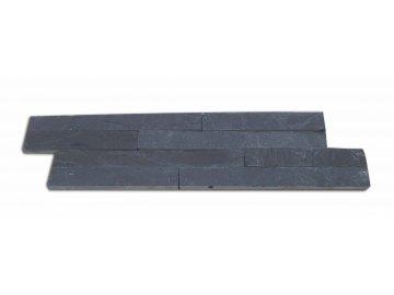 cerna bridlice strips obklad vzorek