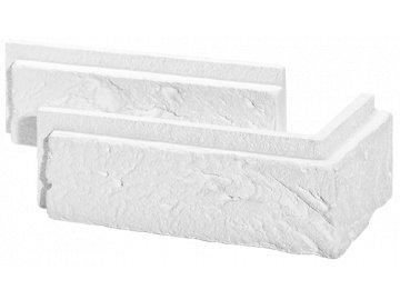 Rohový obklad Stegu - PARMA 1 white