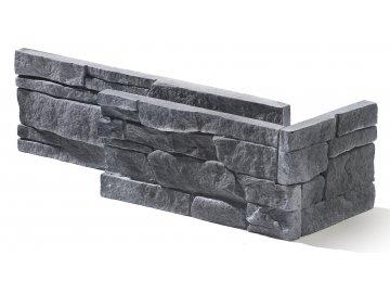 Rohový obklad Stegu - MEXICANA 3 graphite