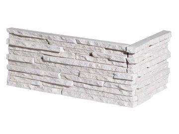 Rohový obklad Stegu - PALERMIA 1 white