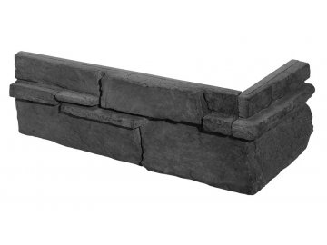 Rohový obklad Stegu - GRENADA 5 graphite