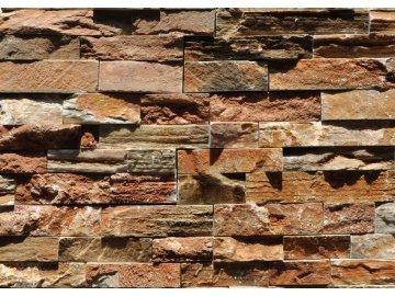Přírodní obkladový kámen - KVARCIT ORANŽOVÝ