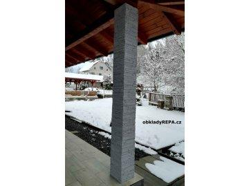 Kamenný obklad Luminta - RONDA ŠEDÁ