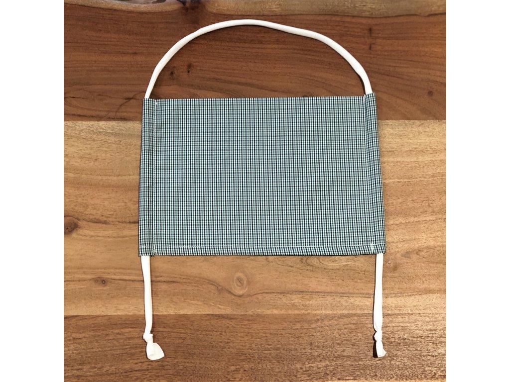 Bavlněná dvouvrstvá rouška s kapsou na filtr BOA