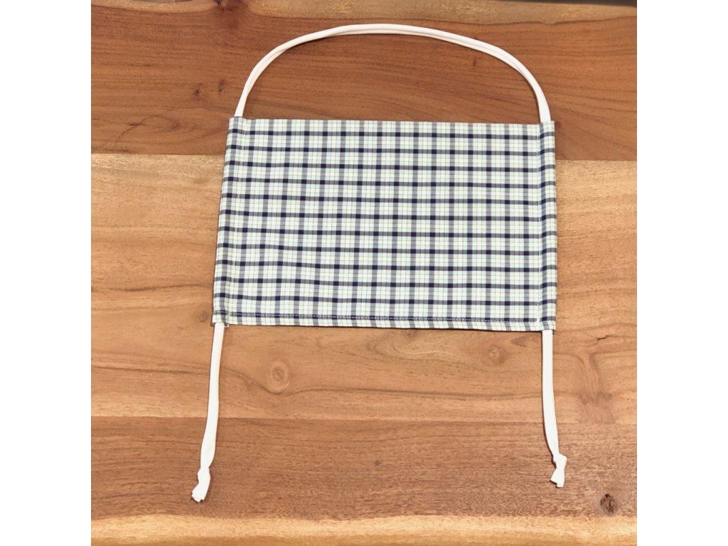 Bavlněná dvouvrstvá rouška s kapsou na filtr CAMDEN