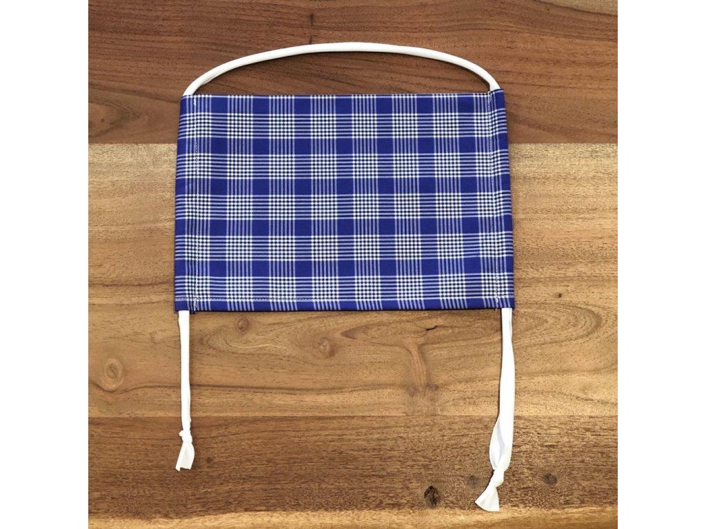 Bavlněná dvouvrstvá rouška s kapsou na filtr DUCA