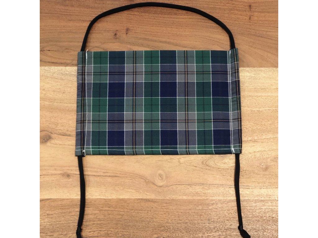 Bavlněná dvouvrstvá rouška s kapsou na filtr PYTHON