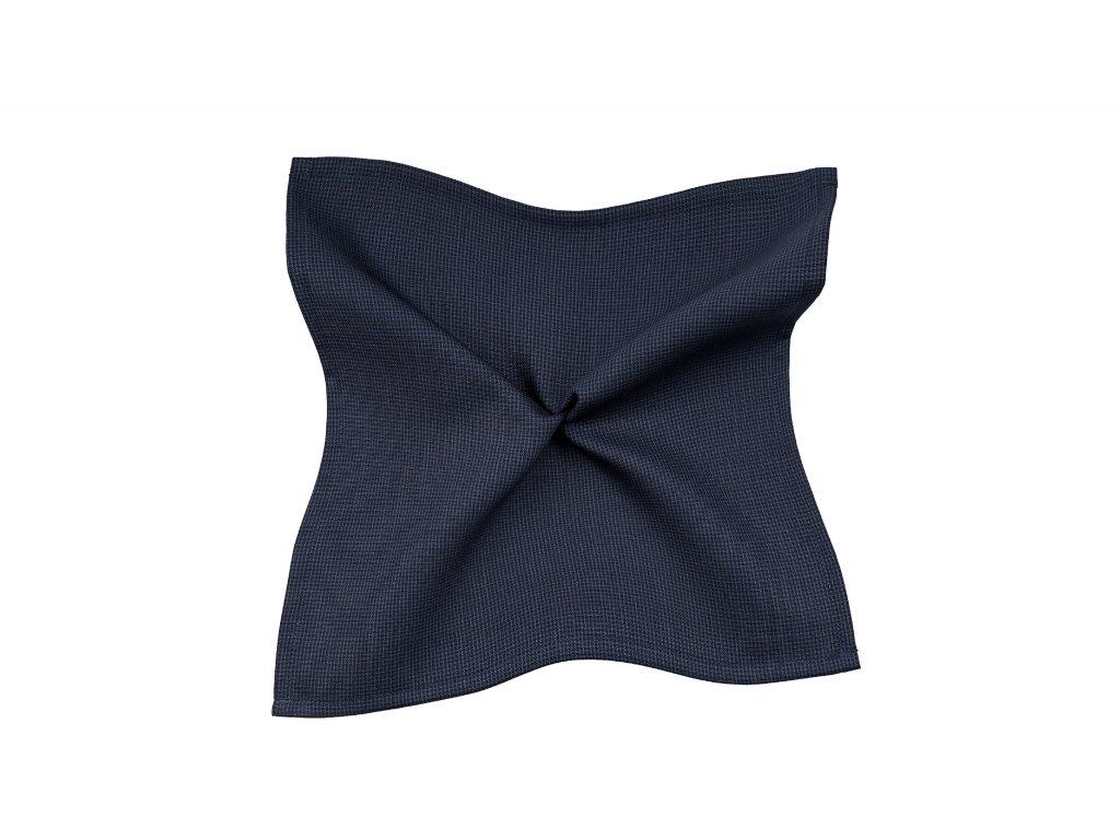 Tmavě modrý kapesníček