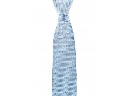 Světle modrá kravata s kroužky