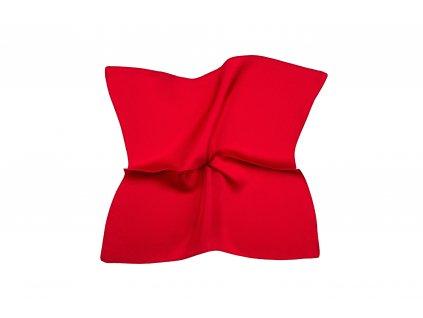 Sytě červený kapesníček