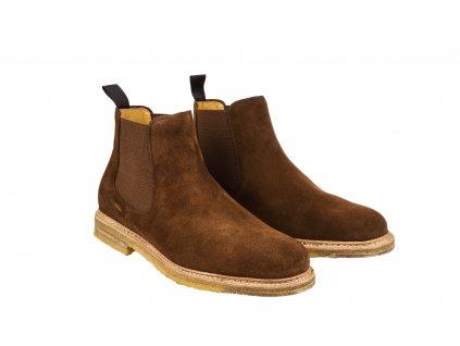 Kotníčkové boty SuperBuck Snuff Brown