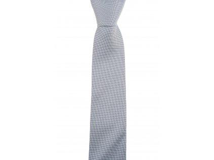 Světle šedá kravata se strukturou