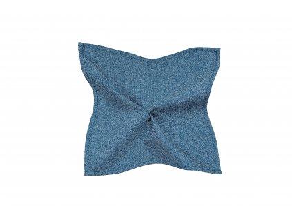 Modrý kapesníček se strukturou