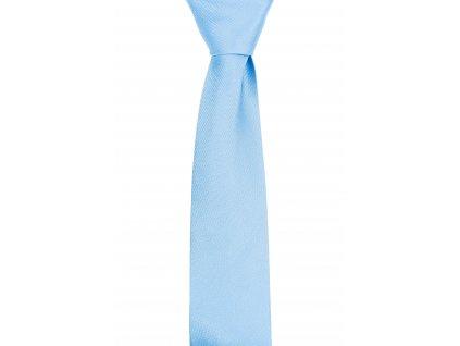 Světle modrá kravata se strukturou