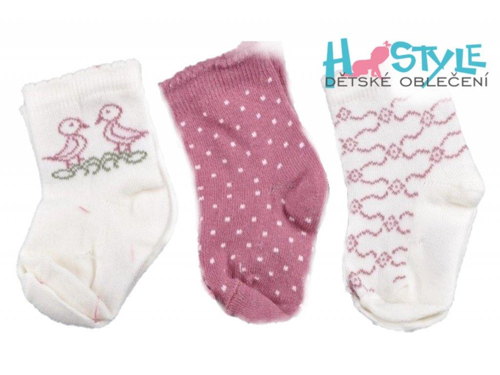 Kojenecké ponožky sada 3 Ks - 56301