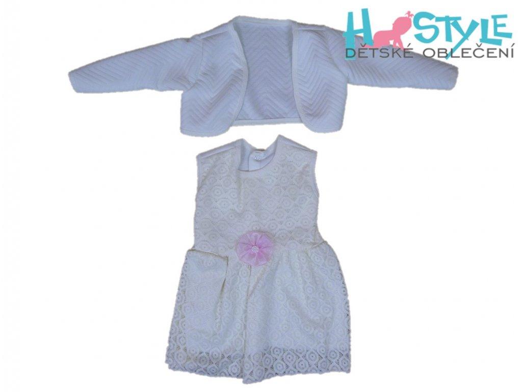 Šatičky krátký rukáv dívčí - 35490
