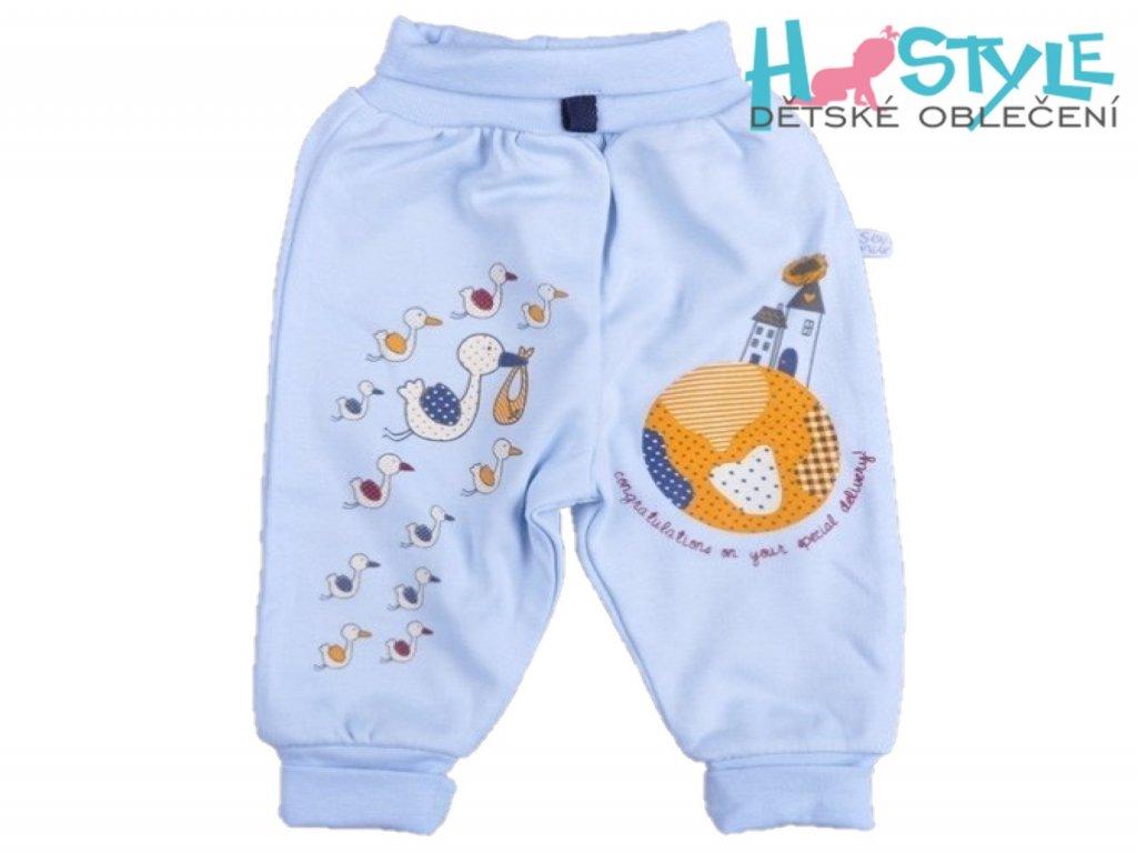 Kojenecké bavlněné kalhoty - 45591