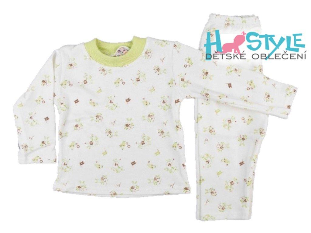 Pyžamko dětské zebra - 49699