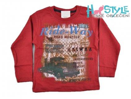 triko s dlouhym rukavem chlapecke 55893
