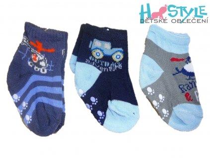 Ponožky chlapecké - Q001