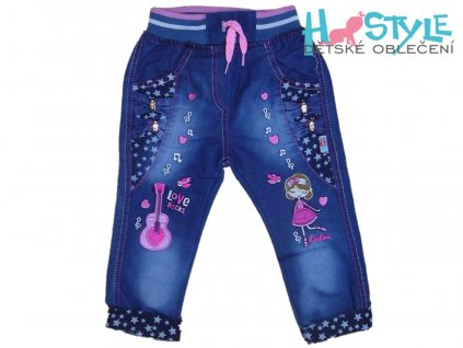 divci riflove kalhoty 41020