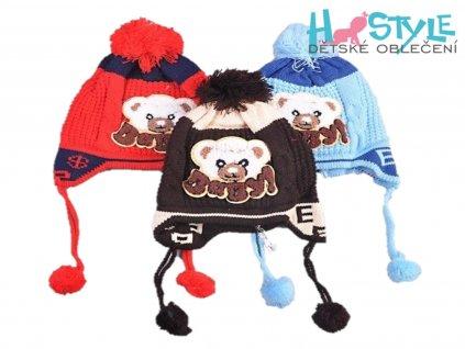 zimni detska cepice 41655