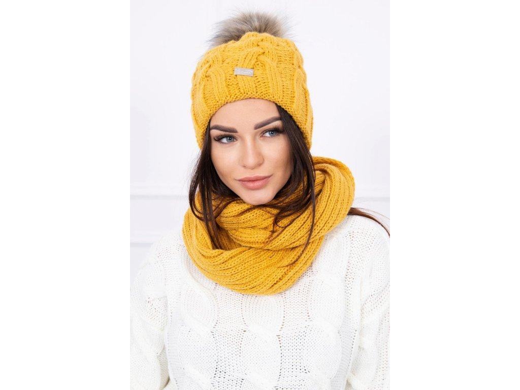 8f1bf6116 Dámska súprava čiapka a šál| Dress Shop