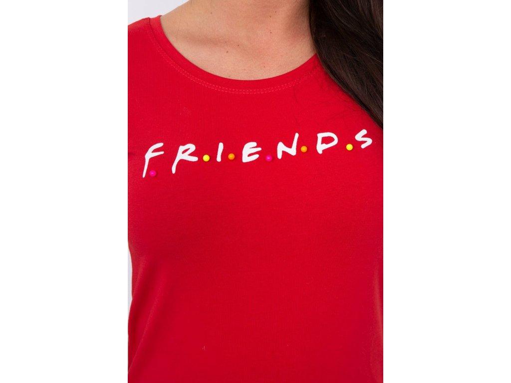 8ba8b4d0cef0 ... slo pl Bluzka Friends cervena 14847 3 ...