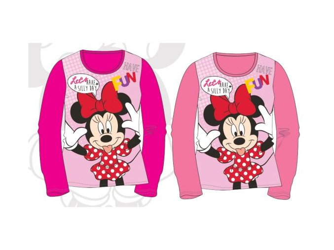 Disney Minnie tričko dlhy rukáv