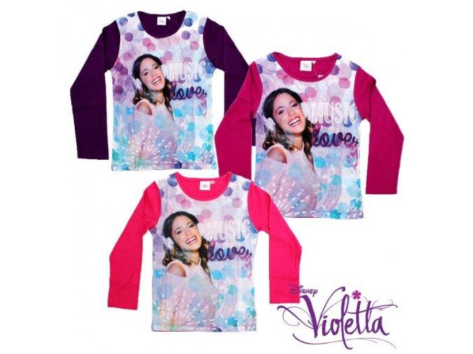 violeta trička