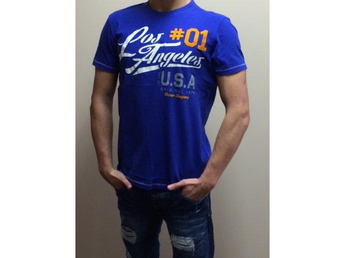 Pánske tričko s krátkym rukávom.