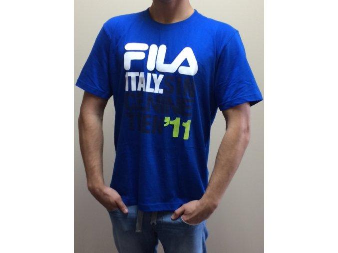 Pánske tričko Fila s potlačou - modré