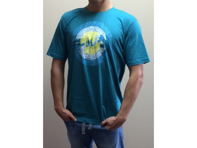Pánske tričko Fila - tyrkysové