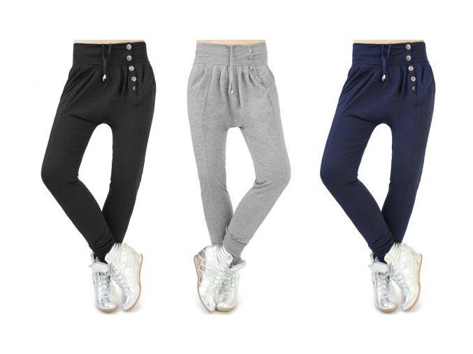modre,sive,čierne nohavice gombiky v predu