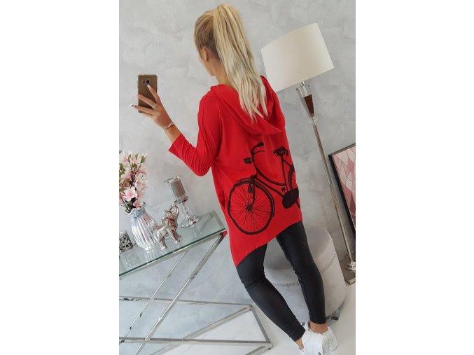 slo pl Mikina s potlacou na bicykli cervena 18432 7